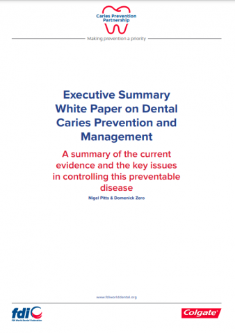 Executive summary white paper on dental caries prevention and management_white paper